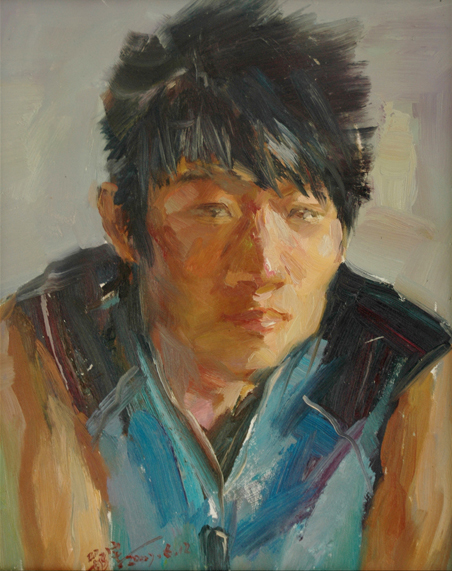 人物(油画)